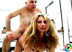 Sexy amateur gets dogstyle fuck while finger fucked on her pussy
