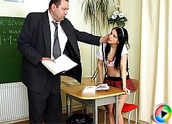 Punished by horny teacher